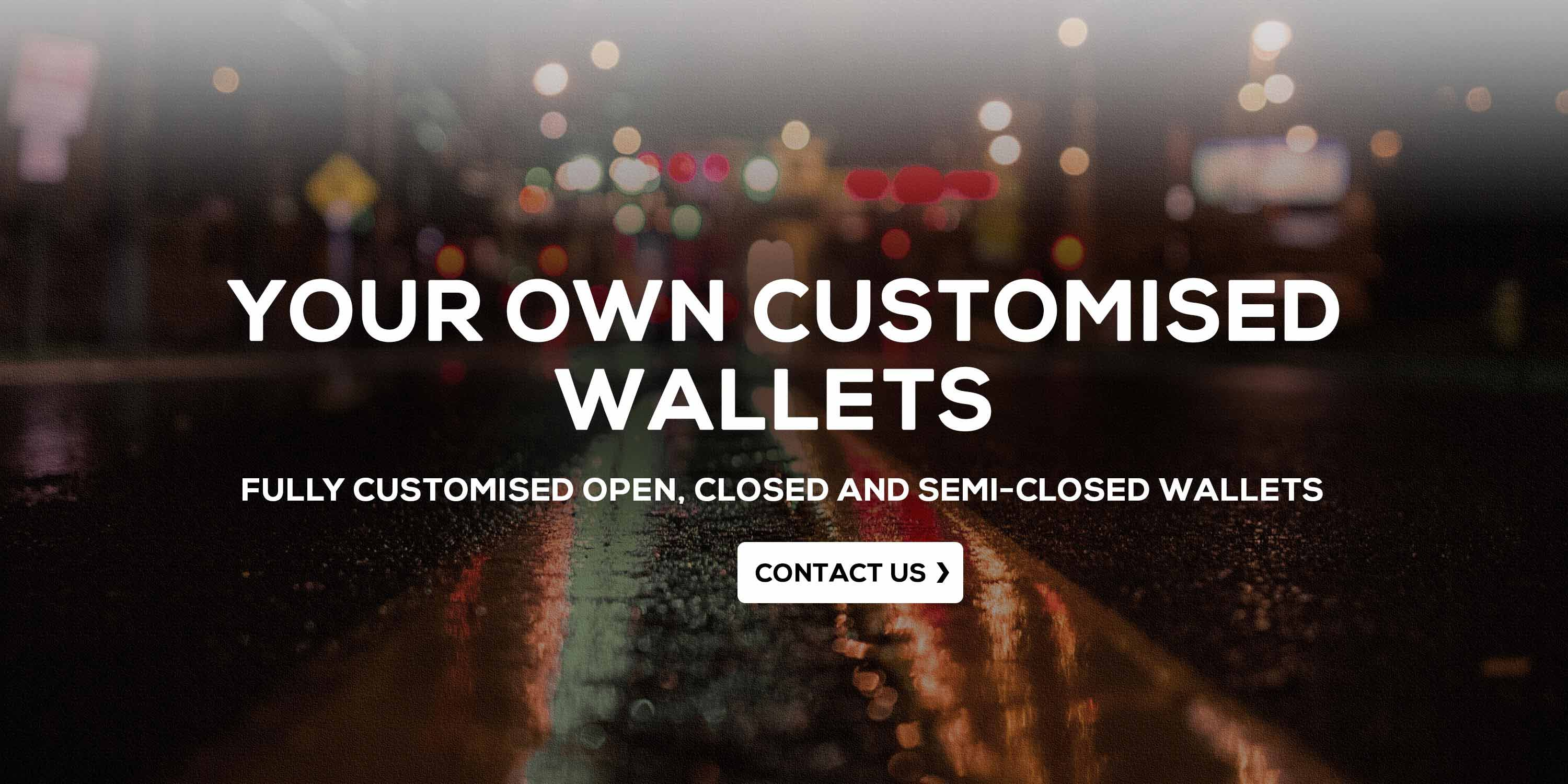 Your Own Customised Wallets
